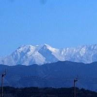 2月18日(土曜日)「雪の石鎚連峰」(渡部正昭さん)