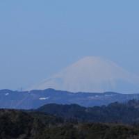 大塚山から富士山を望む