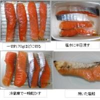 塩鮭を作る