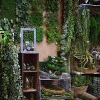 フェイクグリーンの壁面緑化にお役立ちショールーム