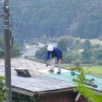 屋根の修理が一段落しました