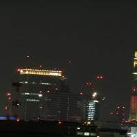 芝公園のホテル19階からの夜景
