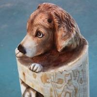 倶楽部講習会作品を仕上げる 犬ウエルカム