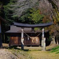 大田原市(湯津上) 諏訪神社とお花権現 29.3.16