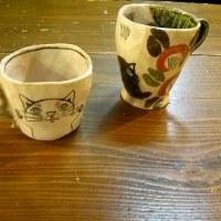 猫マグ 小皿