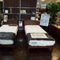 日本ベッドのシルキーレギュラーとシフォンの納品