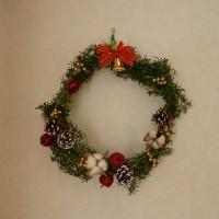 ローズマリーのクリスマスリース