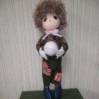 お人形を作りました