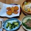 今朝の山賊食堂(7月22日)久方ぶりのポテトサラダ
