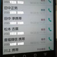同級生との電話