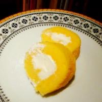 恵方巻っぽくロールケーキ
