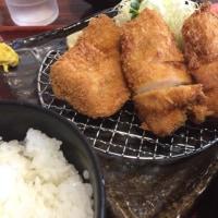越の鶏かつ定食