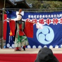アンブローズ展示会・八幡宮(川島の宮」竣工式