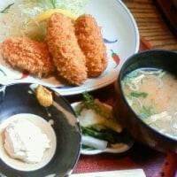3月11日(日)「大地」牡蠣フライ定食