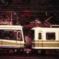 紅葉の鎌倉へ 早朝の江ノ電を撮影 1994-12-10