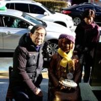 朴元淳ソウル市長、釜山少女像訪問「日本、ドイツがしたようにすべての犯罪に対し徹底的に謝罪すべき」