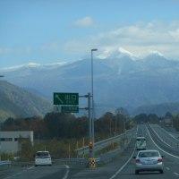 大雪山系の冠雪再び