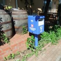 ジョンソンタウンの郵便ポスト