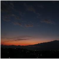 定点からの夕景(Jan20)