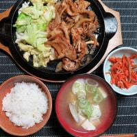 炊屋食堂の豚肉の生姜焼き定食・・・絶品 !