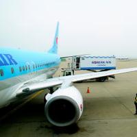 で、仁川空港に到着
