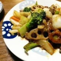 5月17日(水)根菜のオイスターソース炒め