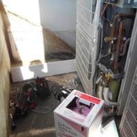 業務用のエアコンの修理