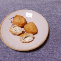 つまみ チキボール(チーズ&ホウレン草)