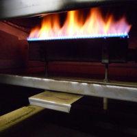 焙煎機のバーナーを掃除・・・きれいな安定した炎になりました。