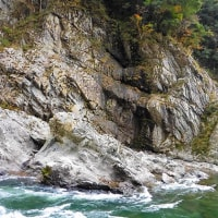 徳島の旅(その四)大歩危峡で川下り