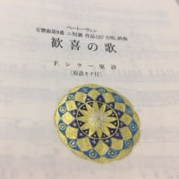 今年も12月に第九の演奏会に参加しま~す(^^)/