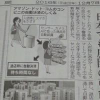 日経新聞読んでますよ。もうこんな時間!
