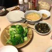 中華の鉄人の家の晩ご飯を一緒に。。
