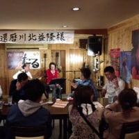 津山宵祭り、酔い祭りのオープンステージ\(^o^)/