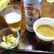 すき家 うな丼(特盛) しじみ汁とおしんこセット。