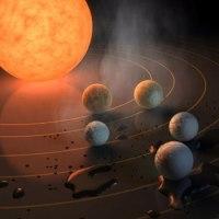 NASAが太陽系に7つの新たな星?