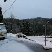 積雪5センチ今年最後の洗濯日和。
