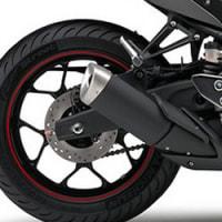 最近のオートバイのマフラー形状