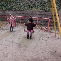 ベルナデッタ水曜クラス・戸外遊び&おひなさま制作☆