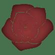 薔薇のイラスト