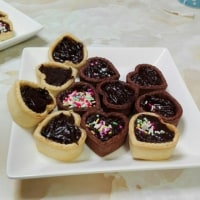 手作りチョコタルト