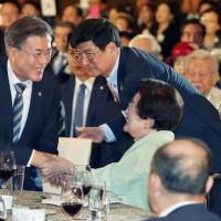 文大統領は「対話の環境を韓国が主導的に作っていくのが、新政府の外交・安保政策の核心になる」と話した。