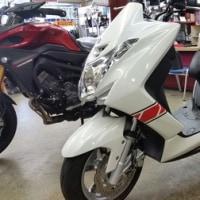 バイクを購入した