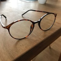 老眼鏡、来たる。