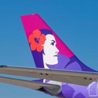 今年のハワイはハワイアン航空で決定。