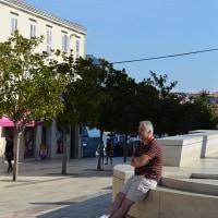 2016秋の欧州ドライブ クロアチア 古都ポレック  町中から再び海岸へ