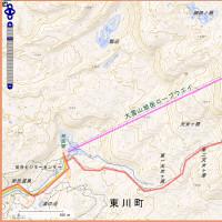 大雪山(たいせつざん。旭岳。黒岳。北鎮岳。旭岳温泉~大雪高原温泉)登山道の地図