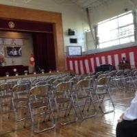 足立区立江北小学校「卒業式」に行ってきました。
