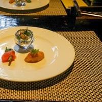 【ランチ】JR越後湯沢駅前のレストラン、むらんごっつぉで魚沼の旬をコースで頂く。