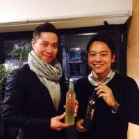 日本酒とフレンチ。